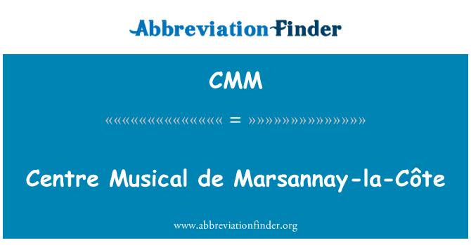 CMM: Centre Musical de Marsannay-la-Côte