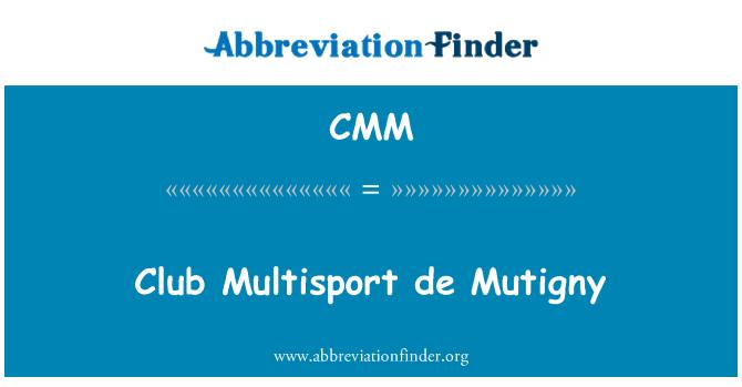 CMM: Club Multisport de Mutigny
