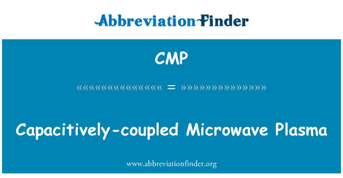 CMP: Capacitively-coupled Microwave Plasma