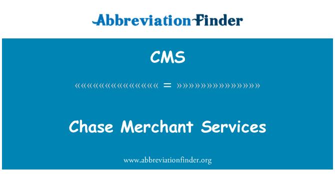 CMS: 大通商戶服務