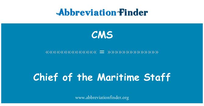 CMS: Chief merenduspoliitika töötajad