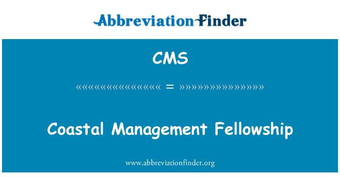 CMS: Beca de gestión costera