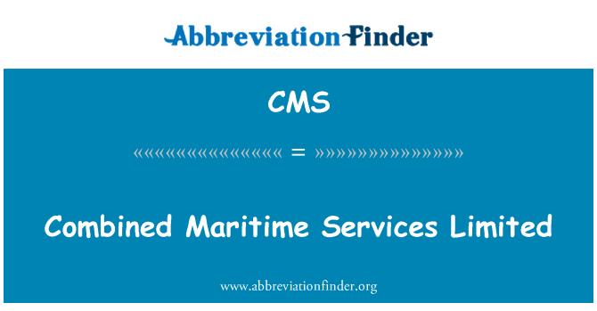 CMS: Kombineeritud Maritime Services Limited