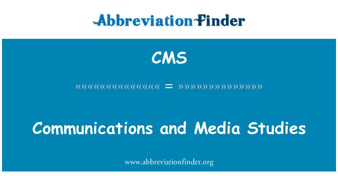 CMS: Side ja meedia