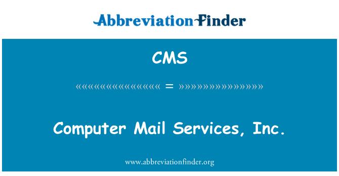 CMS: Correo de Computer Services, Inc.