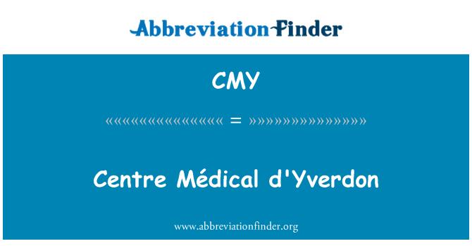 CMY: Centre Médical d'Yverdon