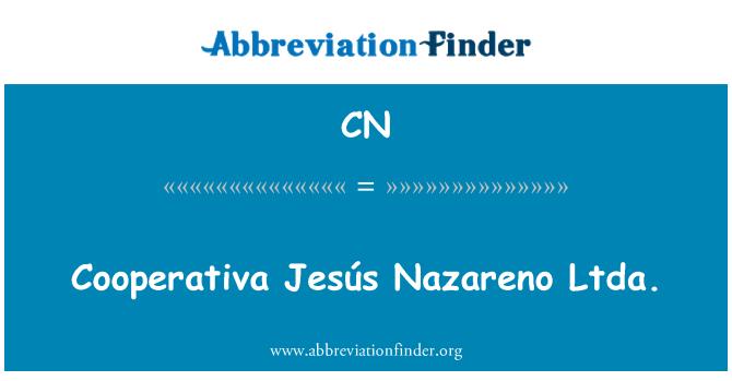 CN: Cooperativa Jesús Nazareno Ltda.