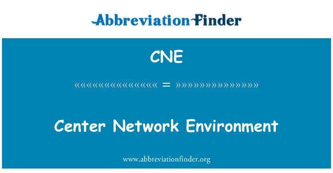 CNE: Center Network Environment
