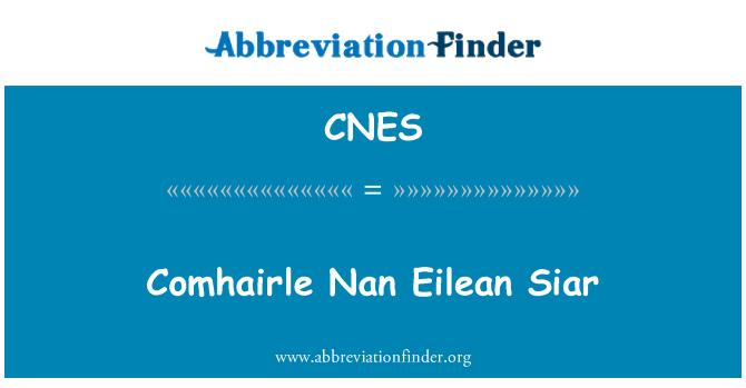 CNES: Comhairle Nan Eilean Siar