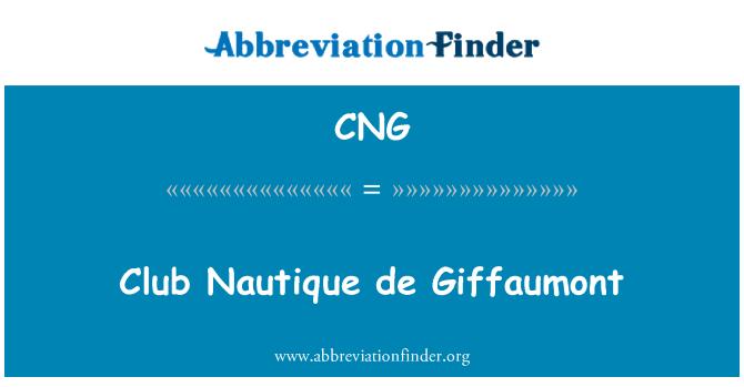 CNG: Club Nautique de Giffaumont