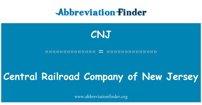 CNJ: Central Railroad Company of New Jersey