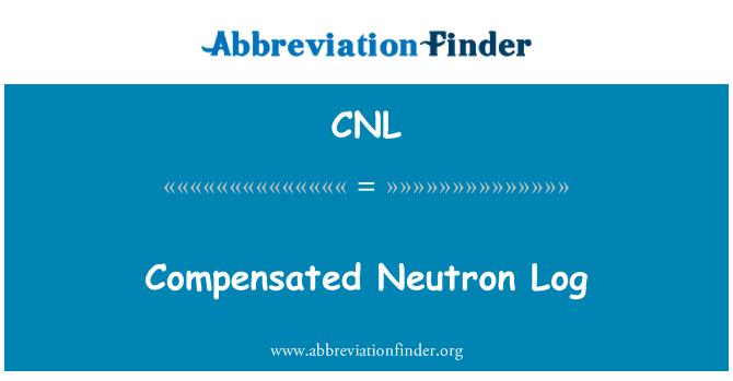 CNL: Compensated Neutron Log