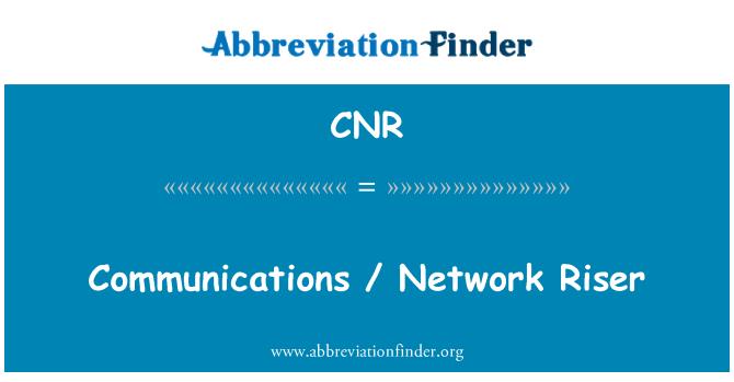 CNR: Communications / Network Riser