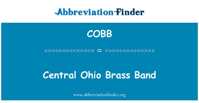 COBB: Central Ohio Brass Band