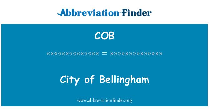 COB: City of Bellingham