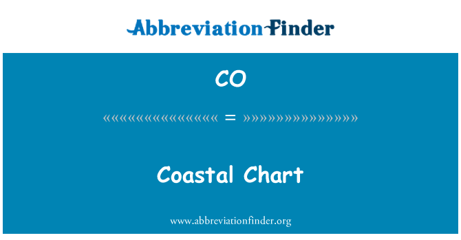 CO: Coastal Chart