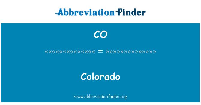 CO: Colorado