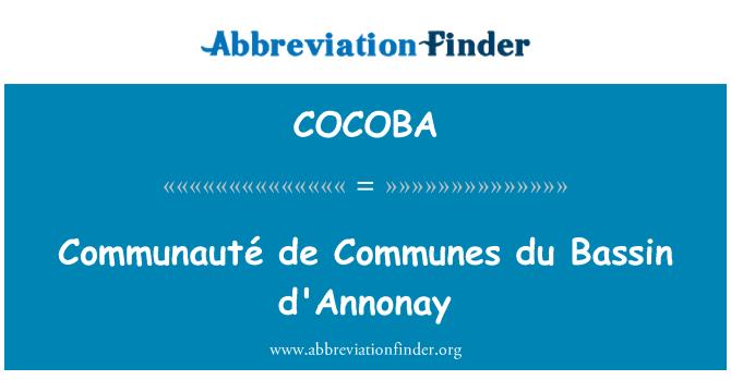 COCOBA: Communauté de Communes du Bassin d'Annonay
