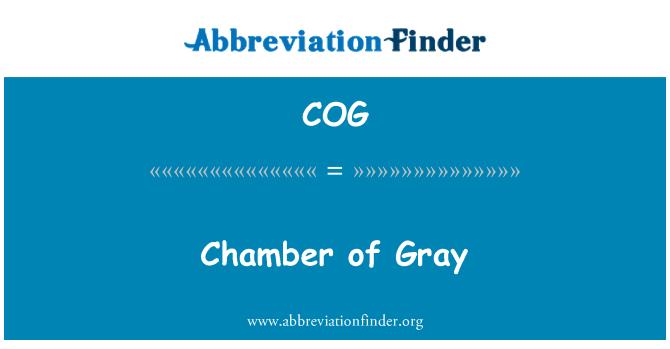 COG: Chamber of Gray