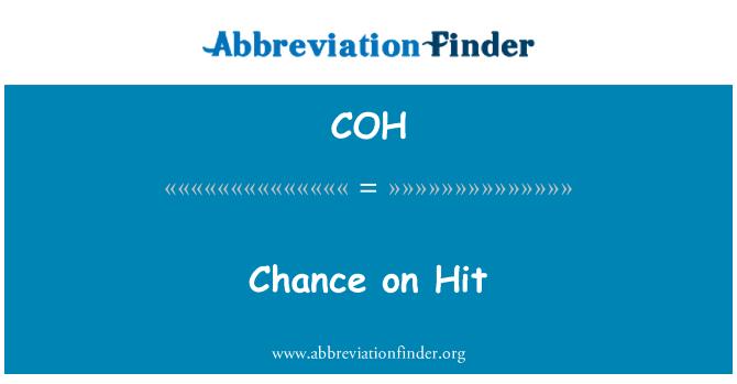 COH: Chance on Hit