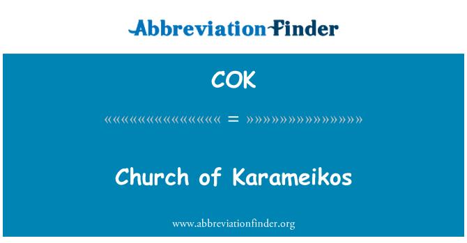 COK: Church of Karameikos