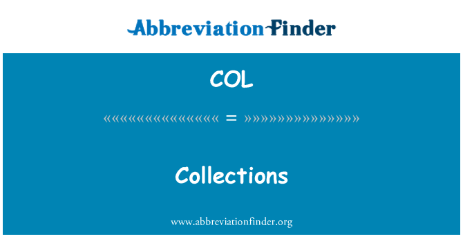COL: Collections