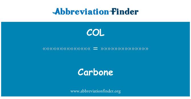 COL: Carbone