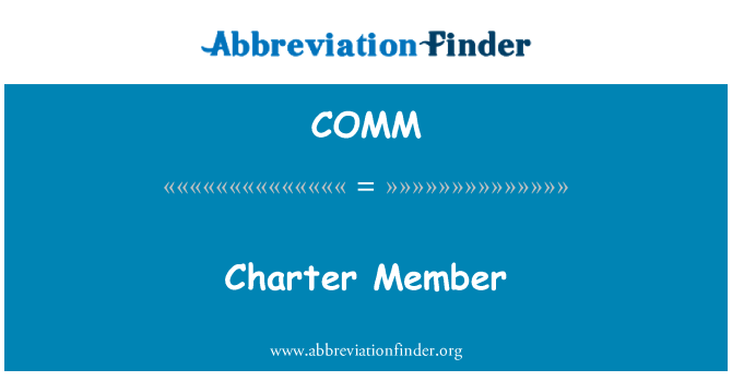 COMM: Anggota Piagam