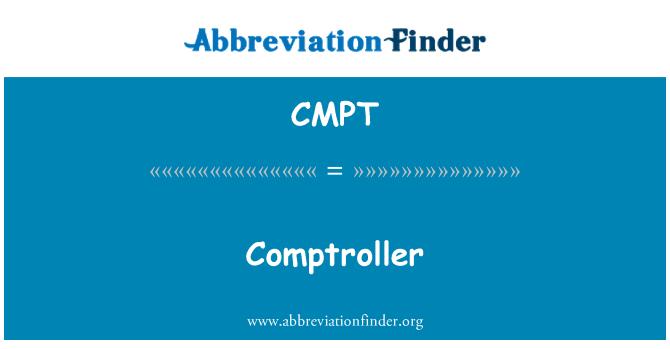 CMPT: Comptroller