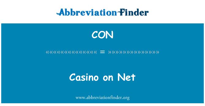 CON: Casino on Net