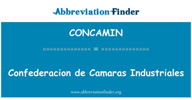 CONCAMIN: Confederacion de Camaras Industriales