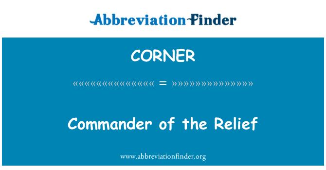 CORNER: ریلیف کے کمانڈر
