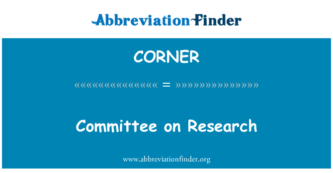 CORNER: Επιτροπή έρευνας
