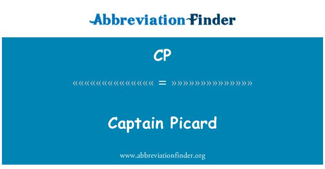 CP: Captain Picard