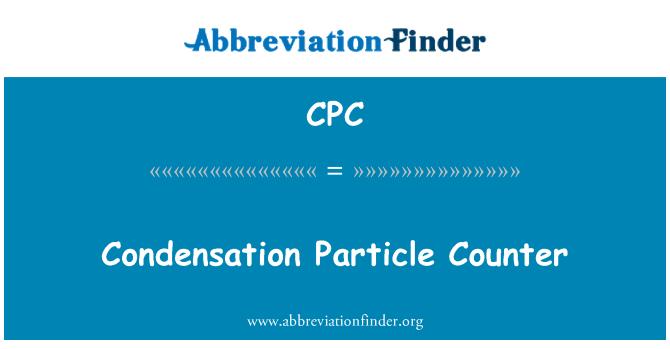 CPC: Condensation Particle Counter