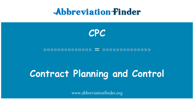 CPC: Contract Planning and Control