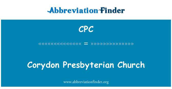 CPC: Corydon Presbyterian Church
