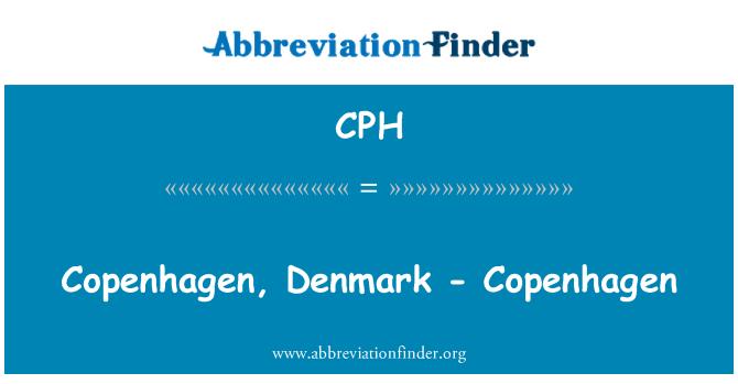 CPH: Copenhagen, Denmark - Copenhagen