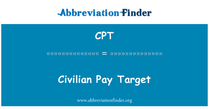 CPT: Civilian Pay Target