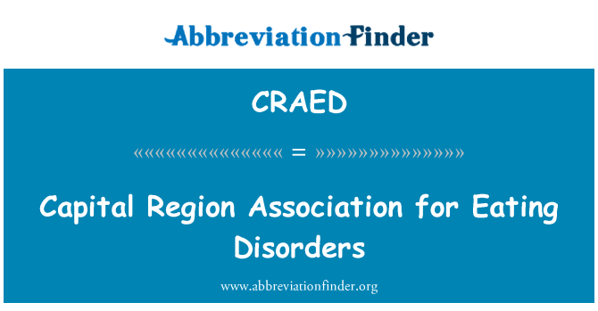 CRAED: Capital Region Association for Eating Disorders