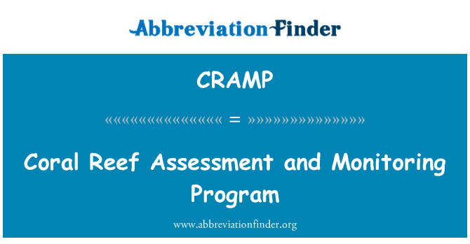 CRAMP: Coral Reef Assessment and Monitoring Program