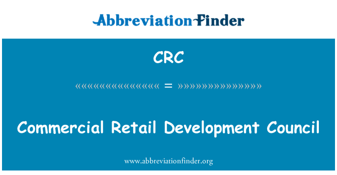 CRC: Majlis Pembangunan Perdagangan runcit