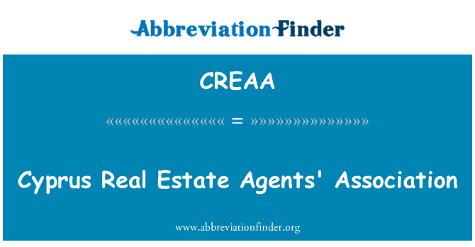 CREAA: Cyprus Real Estate Agents' Association