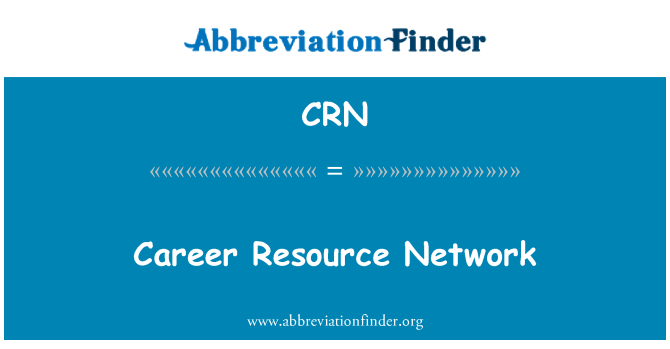 CRN: Career Resource Network