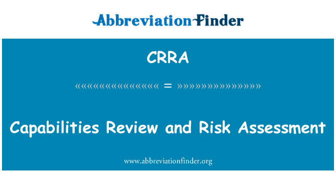 CRRA: Review yeteneklilik ve Risk değerlendirmesi