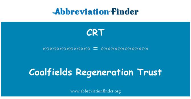 CRT: Coalfields Regeneration Trust