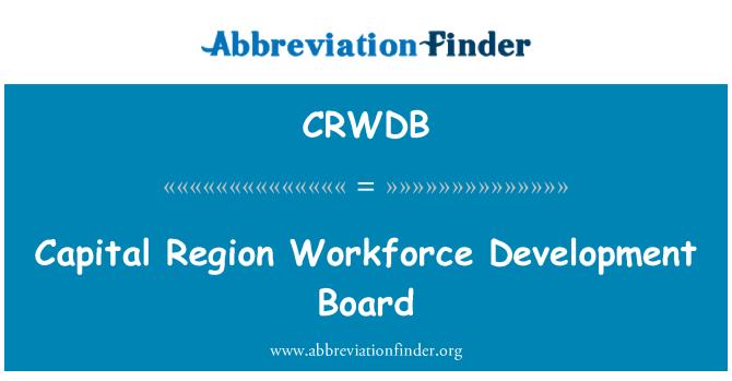 CRWDB: Capital Region Workforce Development Board
