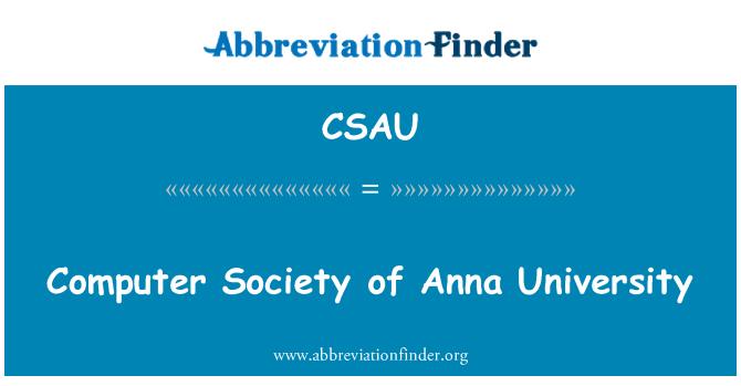 CSAU: Sociedad de computación de la Universidad de Anna