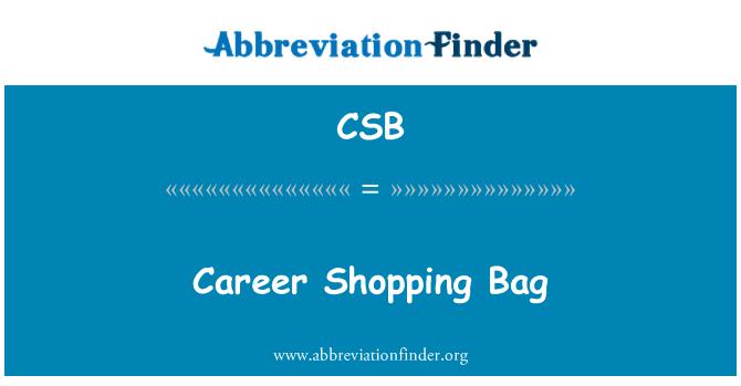 CSB: Career Shopping Bag