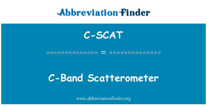C-SCAT: Banda C difusómetro
